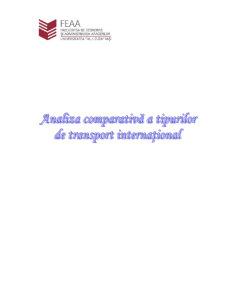 Analiza Comparativa a Tipurilor de Transport International - Pagina 1