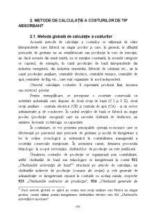 Metode de Contabilitate Manageriala si de Calculatie a Costurilor - Pagina 2