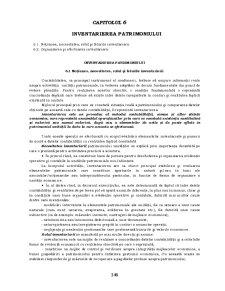 Contabilitate - Curs 6 - Inventarierea Patrimoniului - Pagina 1
