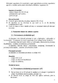 Determinarea Parametrilor Fizico-Chimici ale Apelor - Pagina 5