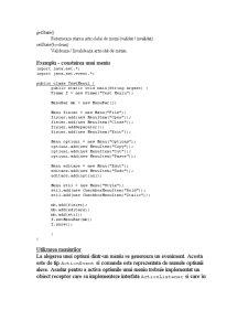 Meniuri în Java - Pagina 4
