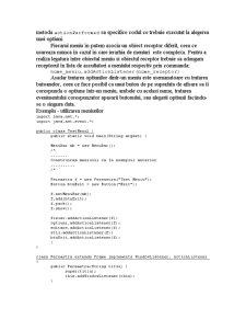 Meniuri în Java - Pagina 5