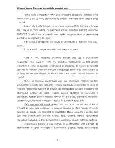 Sistemul Bancar European în Condițiile Monedei Unice - Pagina 5
