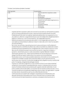 Proceduri de Colectare a Probelor și Obiective - Pagina 1