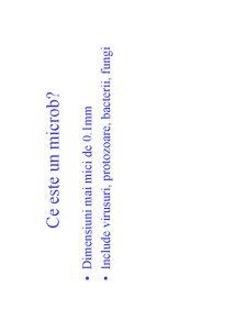 Microbiologie Generala - Curs 1 - Pagina 2
