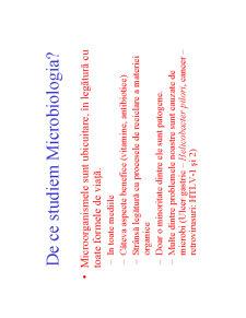 Microbiologie Generala - Curs 1 - Pagina 4
