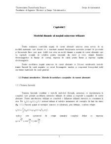Conducerea cu DSP a unui Sistem de Actionare a Servomotorului de Curent Continu Fara Perii - Pagina 1