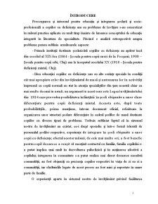 Copiii cu Disabilități Mintale - Pagina 2