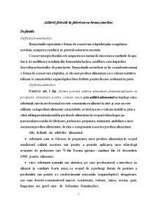Aditivi Utilizati la Fabricarea Branzeturilor - Pagina 3