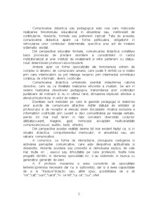 Comunicarea Didactica - Pagina 2