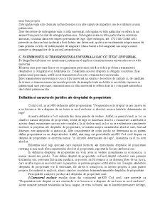 Drept Civil - Drepturile Reale - Pagina 5