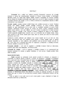 Economie Politica - Pagina 1