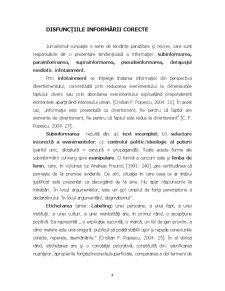 Calitățile Profesionale ale Informării - Pagina 4