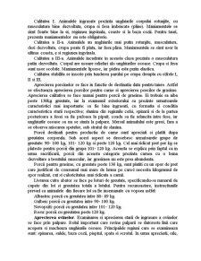 Animalele de Macelarie si Tehnologia Aprecierii Lor si Animale destinate Productiei de Carne - Pagina 5