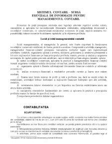 Management Contabil - Master - Cursul 1 - Pagina 1