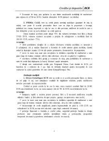 Credite și Depozite BCR - Pagina 2