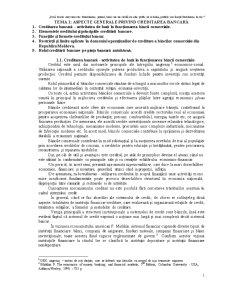 Aspecte Generale Privind Creditarea Bancară - Pagina 1