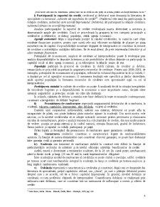 Aspecte Generale Privind Creditarea Bancară - Pagina 4