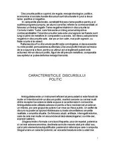 Titu Maiorescu și Discursul Politic - Pagina 3