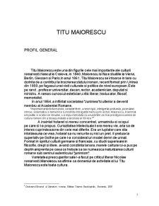 Titu Maiorescu și Discursul Politic - Pagina 5