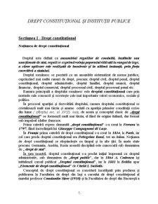 Drept Constitutional si Institutii Publice - Pagina 5