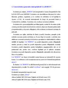 Activitatea Bancara - SC Horus SA - Pagina 1