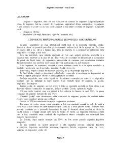 Asigurări Comerciale - Pagina 1