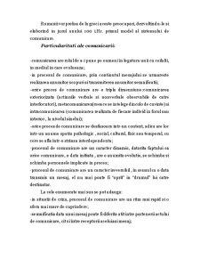 Notiuni Generale Privind Procesul de Comunicare si Rolul Comunicarii in Relatiile Interumane - Pagina 2