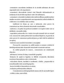 Notiuni Generale Privind Procesul de Comunicare si Rolul Comunicarii in Relatiile Interumane - Pagina 4