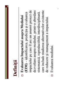 Evaluarea Impactului asupra Mediului - Pagina 3