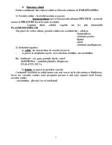 Biologie Vegetala - Curs 2 - Pagina 2