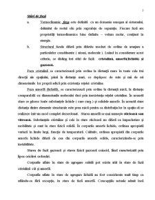 Stari de Agregare, Starile de Faza si Starile Fizice ale Polimerilor - Pagina 3