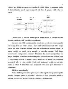 Stari de Agregare, Starile de Faza si Starile Fizice ale Polimerilor - Pagina 4