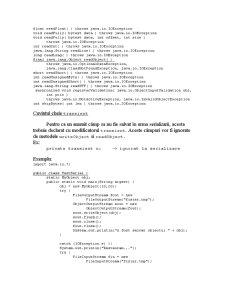 Serializarea Obiectelor în Java - Pagina 4
