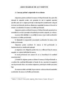 Asigurările de Accidente - Pagina 1