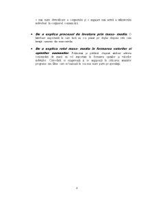 Definitia si Conceptul de Comunicare de Masa Teorii ale Mass-Media - Pagina 4