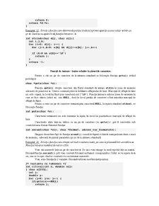 Siruri de Caractere in C si C++ - Pagina 5