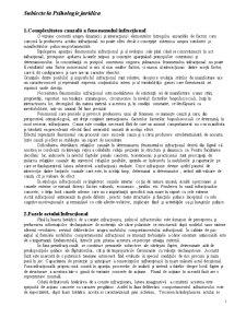 Subiecte Examen Psihologie Juridica - Pagina 1