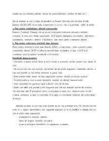 Recuperare în Caz de Dezastre și Continuitatea Afacerii - Pagina 3