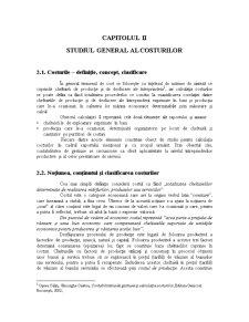 Studiul General al Costurilor - Pagina 1