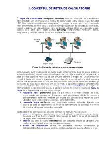 Rețele de Calculatoare - Pagina 1