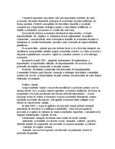 Politici si Practici Caracteristice Comertului Intern si International - Pagina 2