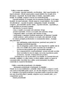 Politici si Practici Caracteristice Comertului Intern si International - Pagina 3
