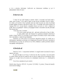 Proiectarea unei Retele pentru Firma SC Pax SRL - Pagina 4