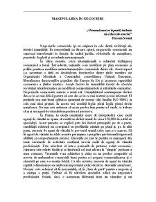 Comunicare și Negociere în Afaceri - Pagina 2