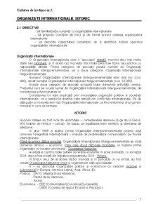Organizatii si Relatii Internationale - Pagina 5
