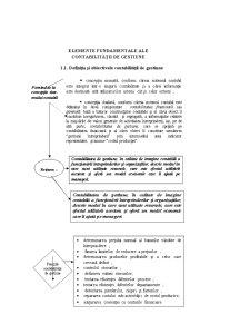 Elemente Fundamentale ale Contabilității de Gestiune - Pagina 1