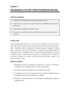 Sisteme si Operatiuni Bancare - Capitolul 3 - Pagina 1