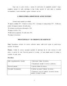 Misiune de Audit Intern la Primaria Comunei Mihai Viteazu Privind Inregistrarea, Evidenta si Inventarierea Patrimoniului - Pagina 2