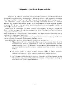 Răspunderea Contravenționala în Dreptul Mediului - Pagina 4